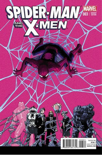 Spider-Man and the X-Men (2014) #3 (1:25 Variant)