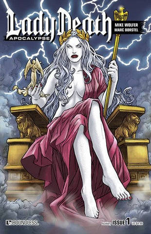 Lady Death Apocalypse (2015) #1 (Auxiliary Cover)