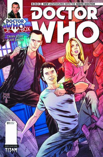 Doctor Who 9th (2015) #1 (1:10 Shedd Variant)