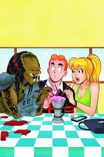 Archie Vs. Predator (2015) #3 (Main Cover)