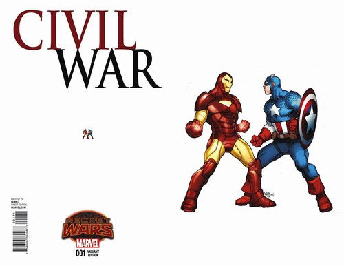 Civil War (2015) #1 (1:15 Ant Sized Variant)