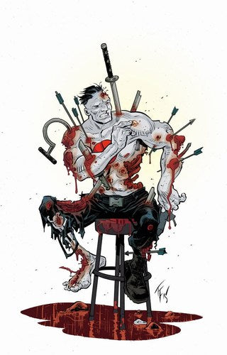 Book of Death Fall of Bloodshot (2015) #1 (Cover D 1:20 Variant Fowler)