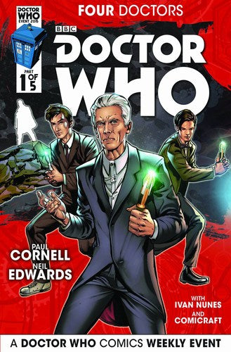 Doctor Who 2015 Four Doctors (2015) #1 (Regular Edwards)