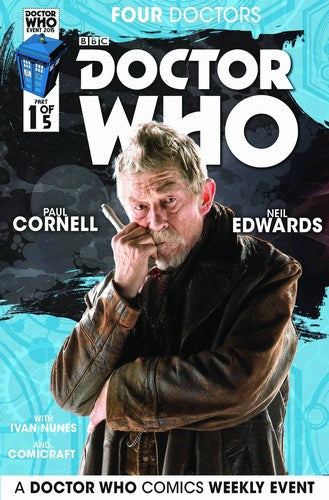Doctor Who 2015 Four Doctors (2015) #1 (Subscription Photo)