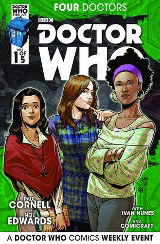 Doctor Who 2015 Four Doctors (2015) #1 (1:25 Casagrande Variant)