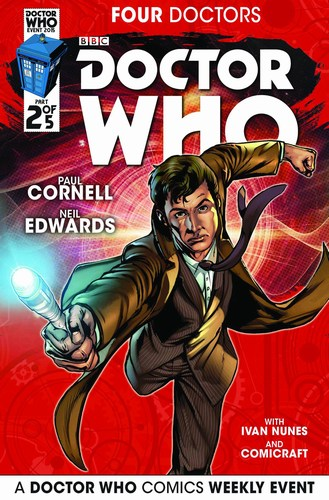 Doctor Who 2015 Four Doctors (2015) #2 (Regular Edwards)