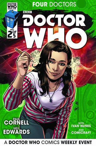Doctor Who 2015 Four Doctors (2015) #2 (1:25 Variant)