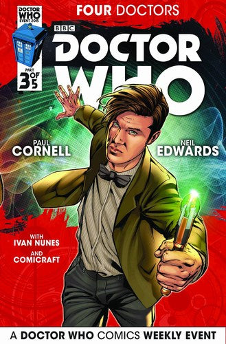 Doctor Who 2015 Four Doctors (2015) #3 (Regular Edwards)