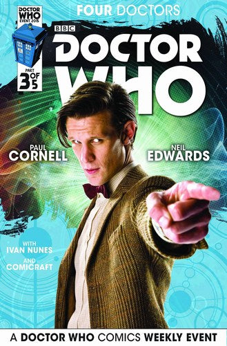 Doctor Who 2015 Four Doctors (2015) #3 (Subscription Photo)