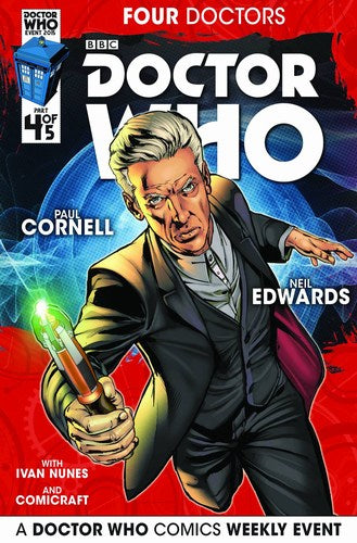 Doctor Who 2015 Four Doctors (2015) #4 (Regular Edwards)