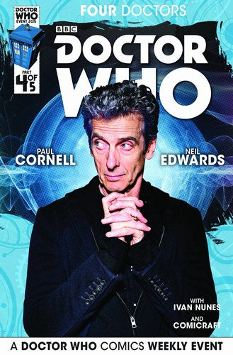 Doctor Who 2015 Four Doctors (2015) #4 (Subscription Photo)