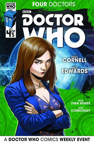 Doctor Who 2015 Four Doctors (2015) #4 (1:25 Casagrande Variant)