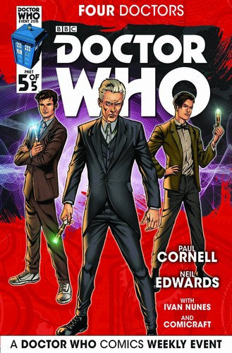 Doctor Who 2015 Four Doctors (2015) #5 (Regular Edwards)