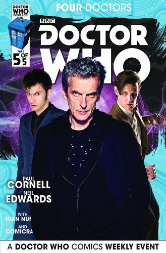 Doctor Who 2015 Four Doctors (2015) #5 (Subscription Photo)