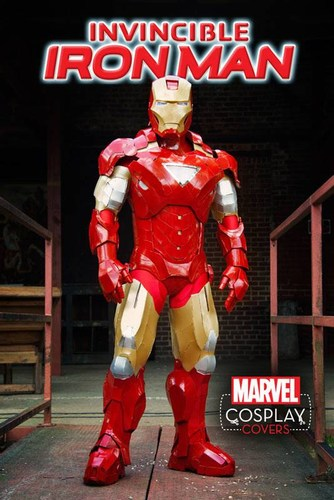 Invincible Iron Man (2015) #1 (1:15 Cosplay Variant)