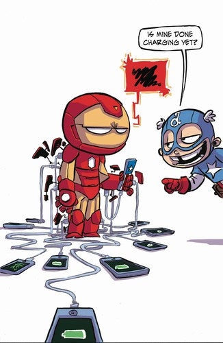 Invincible Iron Man (2015) #6 (Young Variant)
