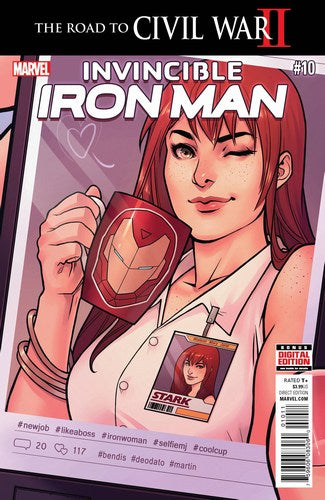 Invincible Iron Man (2015) #10