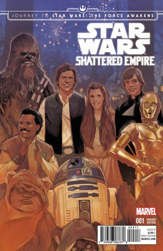 Journey to Star Wars The Force Awakens Shattered Empire (2015) #1