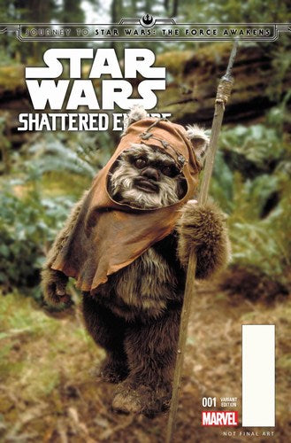 Journey to Star Wars The Force Awakens Shattered Empire (2015) #1 (1:25 Movie Variant)