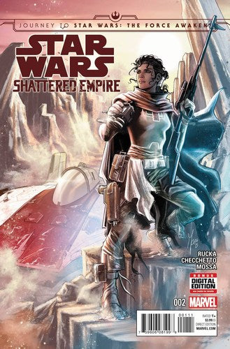 Journey to Star Wars The Force Awakens Shattered Empire (2015) #2