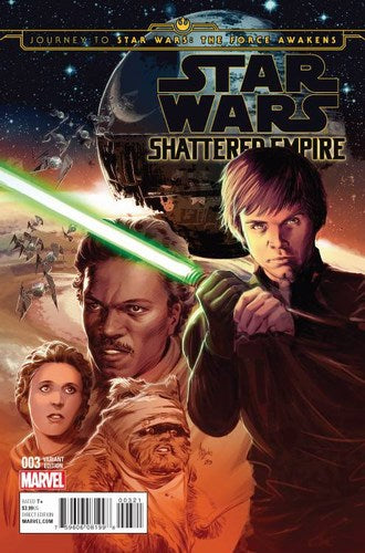 Journey to Star Wars The Force Awakens Shattered Empire (2015) #3 (1:25 Movie Variant)