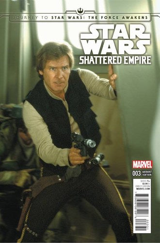 Journey to Star Wars The Force Awakens Shattered Empire (2015) #3 (1:25 Variant)