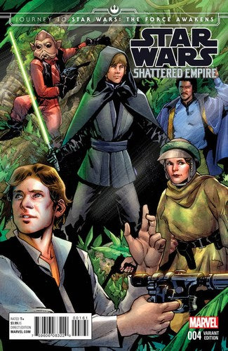Journey to Star Wars The Force Awakens Shattered Empire (2015) #4 (1:25 Variant)