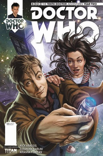 Doctor Who 10th Year Two (2015) #11 (Cover A Ianniciello)