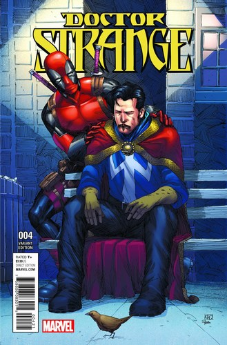 Doctor Strange (2015) #4 (1:10 Deadpool Variant)