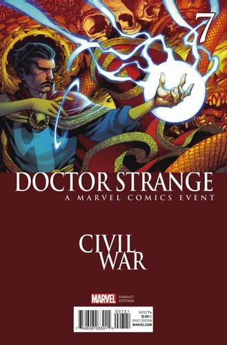 Doctor Strange (2015) #7 (Civil War Variant)