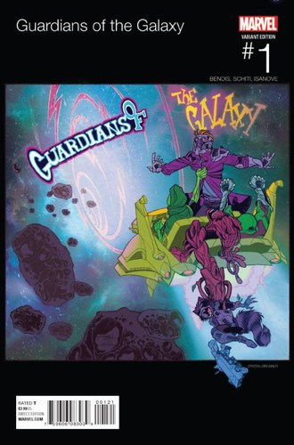 Guardians of the Galaxy (2015) #1 (Crystal Hip Hop Variant)