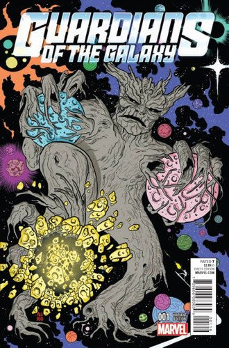 Guardians of the Galaxy (2015) #1 (1:10 Allred Kirby Monster Variant)