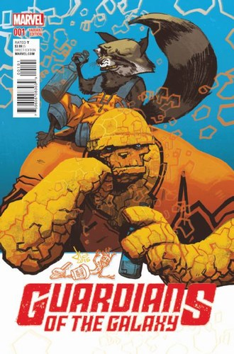 Guardians of the Galaxy (2015) #1 (1:25 Latour Variant)