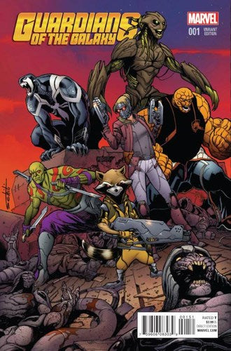 Guardians of the Galaxy (2015) #1 (1:25 Schitti Variant)