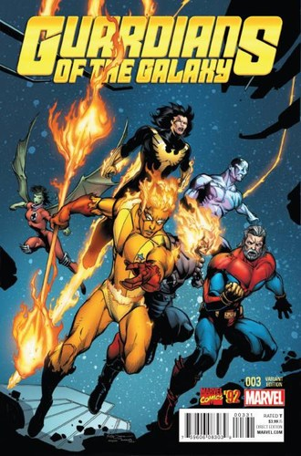Guardians of the Galaxy (2015) #3 (1:20 Marvel 92 Variant)