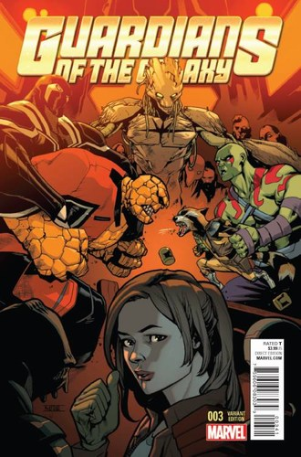Guardians of the Galaxy (2015) #3 (1:25 Asrar Variant)
