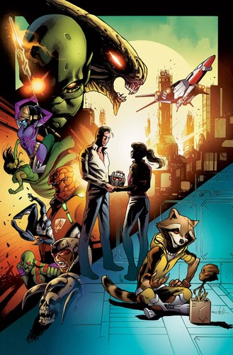 Guardians of the Galaxy (2015) #6 (Story Thus Far Variant)