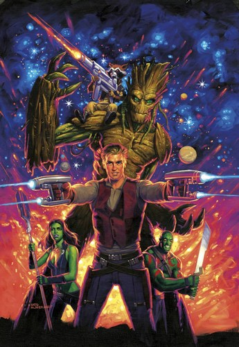 Guardians of the Galaxy (2015) #6 (Classic Variant)