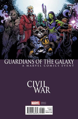Guardians of the Galaxy (2015) #7 (Civil War Variant)
