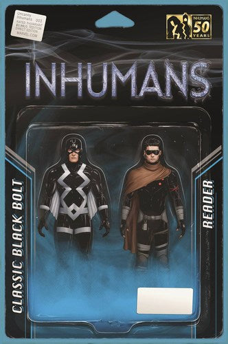 Uncanny Inhumans Volume 2 (2015) #3 (Christopher Action Figure Variant)