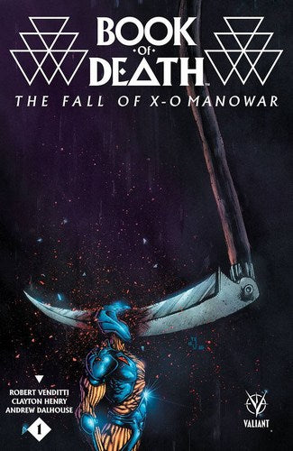 Book of Death Fall of X-O Manowar (2015) #1 (Cover C 1:10 Variant Lee)