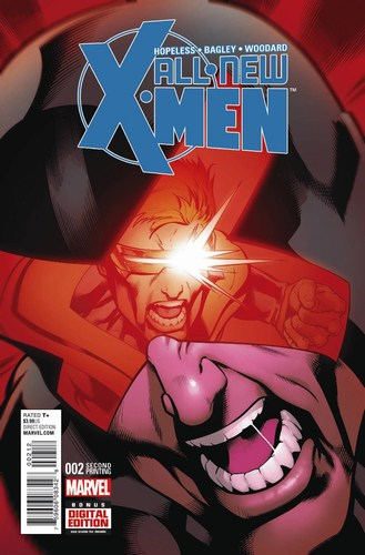 All New X-Men (2015) #2 (Bagley 2nd Print Variant)