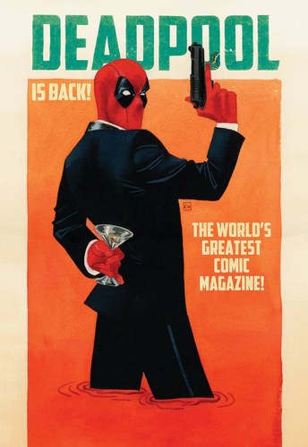 Deadpool (2015) #2 (1:25 Variant)