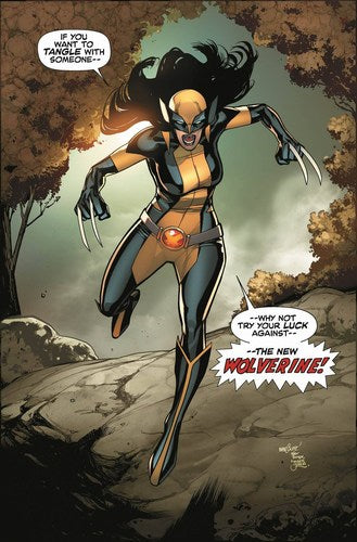All New Wolverine (2015) #1 (1:15 Marquez Variant)