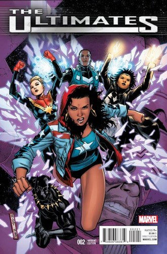 Ultimates (2015) #2 (1:25 Cheung Variant)