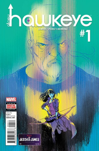 All New Hawkeye Volume 2 (2015) #1