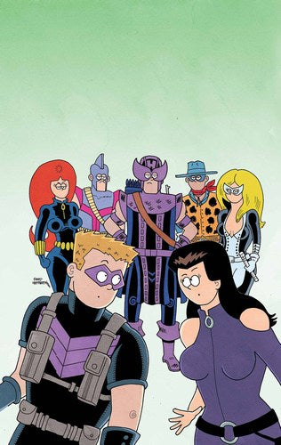 All New Hawkeye Volume 2 (2015) #2 (1:10 Hembeck Variant)