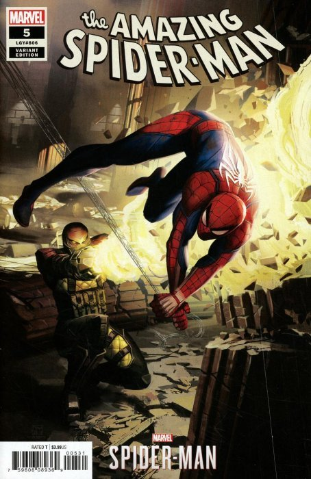 Amazing Spider-Man (2018) #5 (MANDRYCK SPIDER-MAN VIDEO GAME VARIANT)