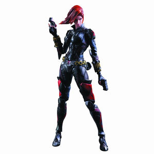 Marvel Universe Variant Play Arts Kai Black Widow Action Figure