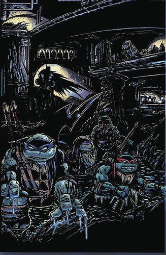 Batman Teenage Mutant Ninja Turtles (2015) #4 (1:50 Variant)